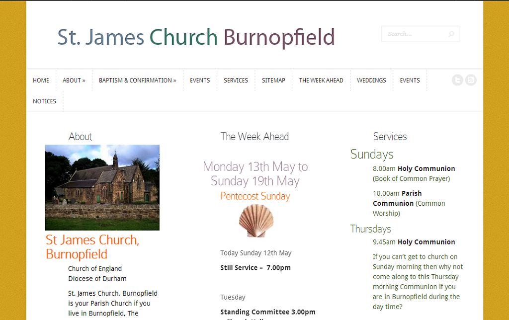 St James' Church Burnopfield