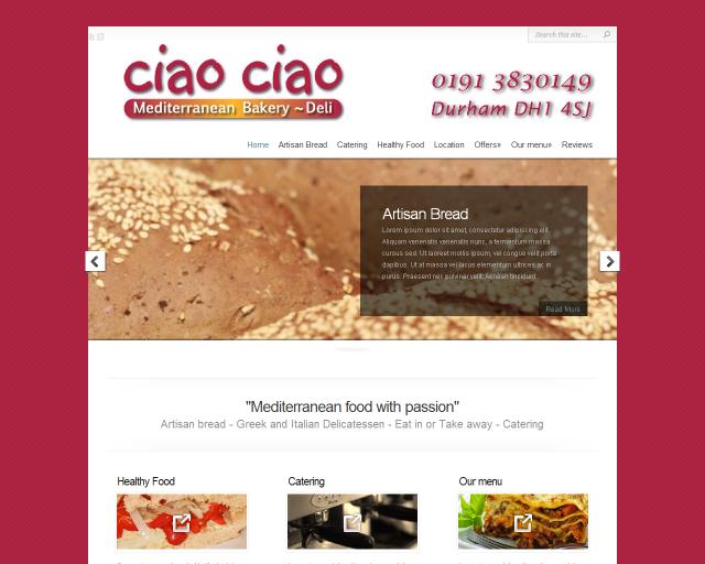 Ciao Ciao website